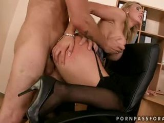 Bawdy sexy boobed tanya tate gets her mouth jizzed just like she asked for