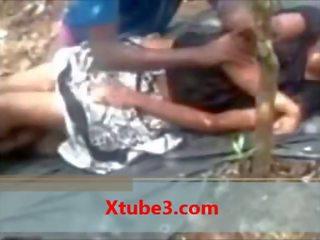 Indien fac fille getting baise en public pa