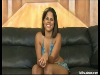 "Elana Is The Spicy Faced 19 Year Mature Cuban, Definitely Lacking In A Titty Department, But Overall Worth The Bangin. She Went Nice In ""Cock Shock"" 10 Seconds After Being Onto Her Knees. Its Lik"