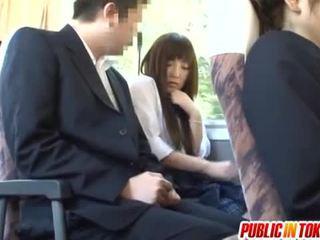 japonijos, public sex, atvirkštinio cowgirl