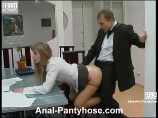 Diana And Adrian Smut Anal Stockings A...