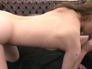 Asian milf sucks and fucks her two eager studs
