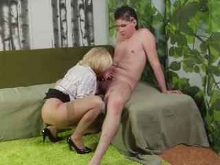 slicka fitta, cock sugande, doggy style