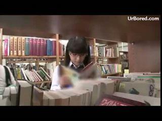 Šolarka izkušene s knjižnica geek 01