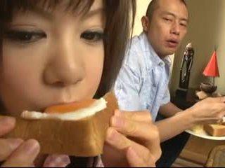 اليابانية, مراهقون, كريم فطيرة