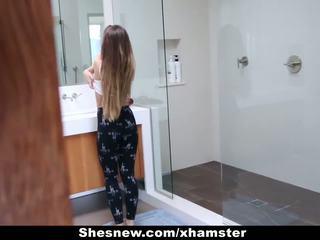 Shesnew - phat pakaļa draudzene rides a liels nozīmēt loceklis