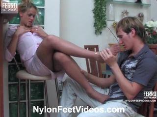 foot fetish, sexy nohy, punčocháče