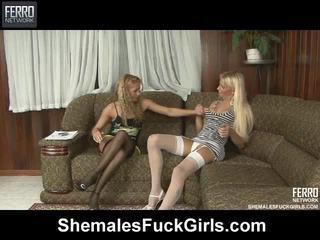 Karıştırmak arasında movs tarafından shemales stretch kızlar