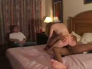 Couples try First Time Fliming Cuckold Experience with Bull