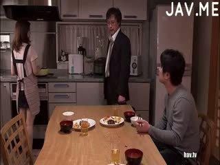 si rambut cokelat, japanese, pantat