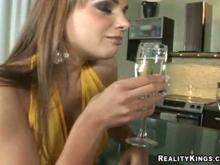 Nika Noir having sex after party