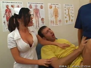 Doctor Help A Patient Back From Coma With A Hardcore Fuck Video