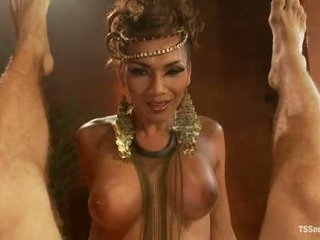 Ts yasmin lee jako cleopatra tsseduction com specjalny cecha