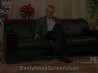 Judith alice pantyhosers कॉट पर camera