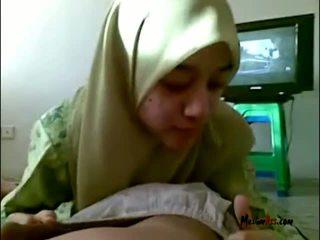 Hijab 비탄 빨기 불알