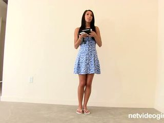 Net video merginos: mia calendar sucks ir gets pakliuvom gilus ir sunkus