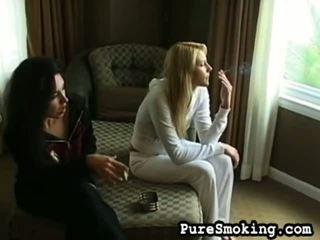 completo vídeos qualidade, jovens fumadores ver, quente fetiche de fumar fresco