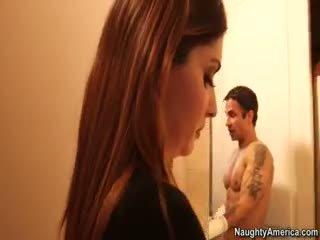 brunetka, ty obciąganie wielki, ładny pornstar więcej