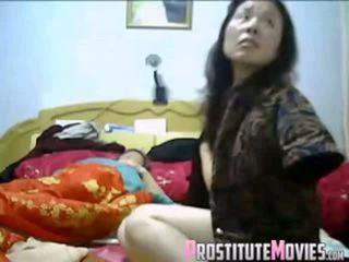 เอเชีย คู่ ร้อน เซ็กส์สามคน ด้วย แม่บ้าน