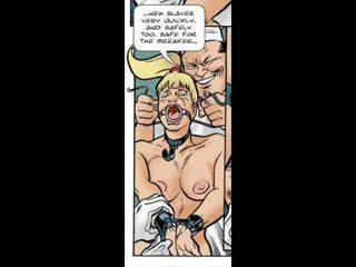 ब्लोंड ट्रिक्ड में बीड़ीएसएम सेक्स कॉमिक