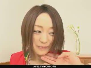 Rina yuuki inpulit hardcore și dicked greu în ei pot