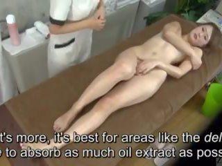 Subtitled enf cfnf japonské lezbické clitoris masáž clinic