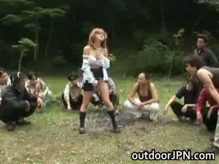 अधिक जापानी सब, हॉट समूह सेक्स, विभिन्न जातियों में स्थित अधिकांश