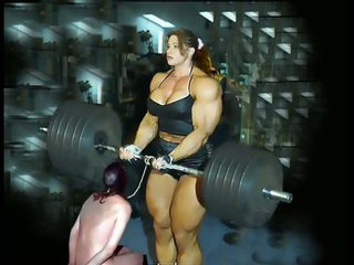Female kehonrakennus fbb bodybuilder bbw femdom