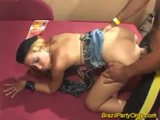 Blond smaba dancer are banged juures pidu