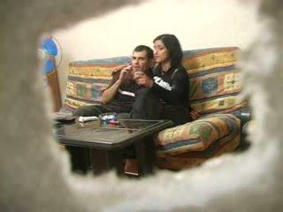 Amatérske turecké manželka s ruské človek zatiaľ čo hubby was preč