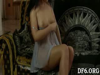 Virgin dreaming of shaft