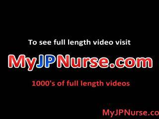 Aki yatoh asiática enfermera likes follando