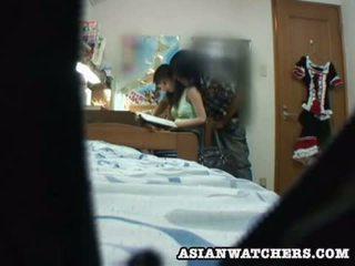 Spycam nuori koulutyttö yksityinen lesson 2