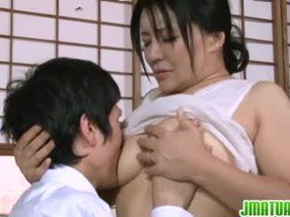 Rijpere gets sommige seks actie met sperma eating pleasures