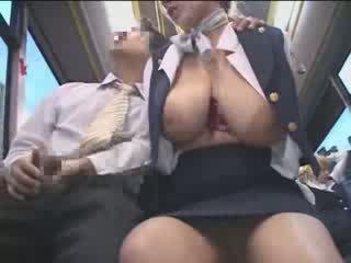 Cycate amerykańskie nastolatka macane w japonia publiczne autobus wideo