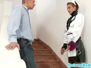 Eurobabe amirah adara facialized як a покоївка