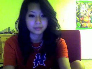 Aasialaiset teinit flashes minua päällä omegle