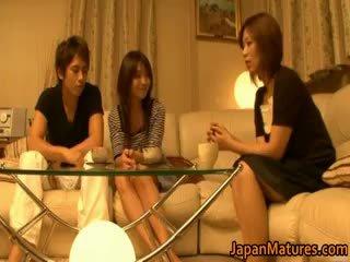 Jepang diwasa women have a bukkake gangbang part4