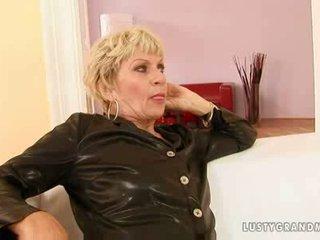 Hot blonde euro granny mabel
