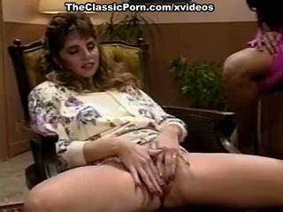 Hyapatia lee, rosemarie, joey silvera în in trei scenă cu two fierbinte retro porno