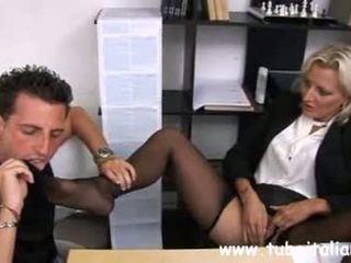 Italian Mature Female Manager