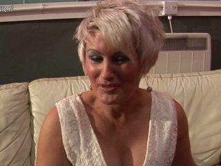 mature, euro porn, aged lady