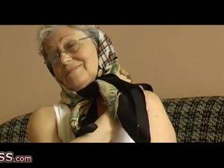berusia, nenek, oldie