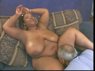 černá a ebony, interracial, velká přírodní prsa