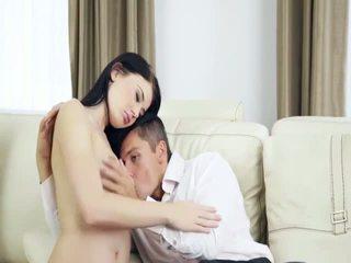 Extremely horny couple havingsex hard