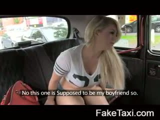 Fake taxi semeno ľudia having drx om fake taxi