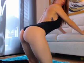 Sexy pelirroja webcam chica con grande tetas 3: gratis porno cb