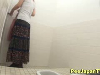 Peeing Asians Hairy Muff