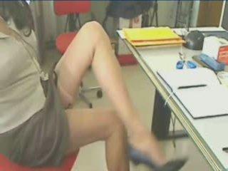 Fantástico piernas en calcetas suspender!