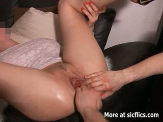 extreme, fetish clip, ideal fist fuck sex